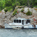 Boat Break by Claire Bull