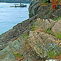 Boat By East Quoddy Bay On Campobello Island-nb by Ruth Hager