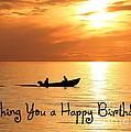 Boat Fishing Birthday by JH Designs