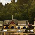 Boat House Row by Trish Tritz