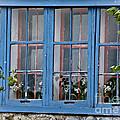 Boat House Windows by Cheryl Baxter