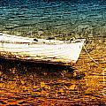 Boat In Dangerous Waters by Achim Drescher
