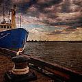 Boat In Marina by Nebojsa Novakovic