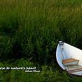 Boat In The Marsh by Caroline Stella