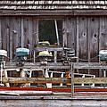 Boat Motors Going Nowhere by Dan Sabin