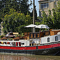 Boat On Canal Du Midi Homps France Dsc01717  by Greg Kluempers