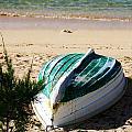 Boat On Devonshire Bay Beach by Marcus Dagan