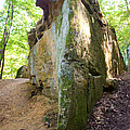 Boat-shaped Rock Wildcat Den State Park by Cynthia Woods
