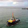 Boat - Tugboat Barbados II by Susan Savad