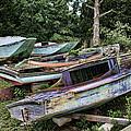 Boat Yard by Heather Applegate