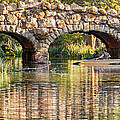 Boaters Under The Bridge by Kate Brown