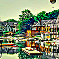 Boathouse Color by Alice Gipson