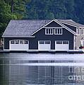 Boathouse by Les Palenik