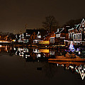 Boathouse Row All Lit Up by Bill Cannon