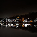 Boathouse Row At Night by Bill Cannon