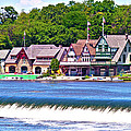 Boathouse Row - Hdr by Lou Ford