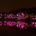 Boathouse Row In Pink by Ed Sweeney
