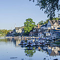 Boathouse Row In September by Bill Cannon