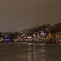 Boathouse Row In The Evening by Bill Cannon