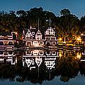 Boathouse Row Panorama by Mihai Andritoiu