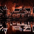 Boathouse Row Reflection by Deborah  Crew-Johnson