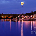 Boathouse Row by Rima Biswas
