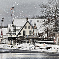Boathouse Snow by Alice Gipson