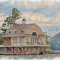 Boathouse  by Susan Leggett