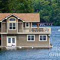 Boathouses by Les Palenik