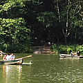 Boating In Central Park by Christy Gendalia