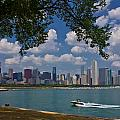 Boating In Chicago  by John McGraw