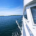 Boating On Lake by Elena Elisseeva