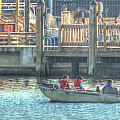 Boating With The Kids by Cathy Jourdan