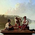 Boatmen On The Missouri by George Caleb Bingham