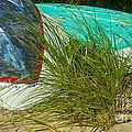 Boats And Beachgrass by Amazing Jules