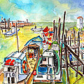 Boats And Boardwalks By Brittany 02 by Miki De Goodaboom
