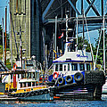 Boats And Tugs Hdrbt3221-13 by Randy Harris