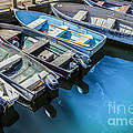 Boats At Bar Harbor Maine by Diane Diederich
