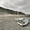 Boats At Bude  by Rob Hawkins