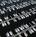 Boats At Nepean Sailing Club by Rob Huntley