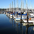 Boats At Rest. Sausalito. California. by Ausra Huntington nee Paulauskaite