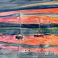 Boats At Skaneateles Lake Ny by Melly Terpening
