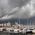 Boats In A Marina by Steve Ball