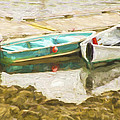 Boats In Camden Maine by Bill Barber