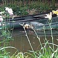 Boats In Giverny by Barbie Corbett-Newmin