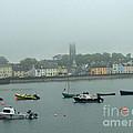 Boats In Irish Sea by Brenda Brown