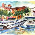 Boats In Porticello 03 by Miki De Goodaboom