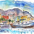 Boats In Porticello 04 by Miki De Goodaboom