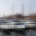 Boats In The Marina by Kevin Round