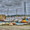 Sail Boats by Doc Braham